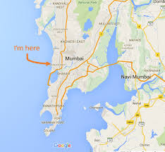 Mumbai Map A Lot Can Happen In A Mumbai Minute A Walker Abroad