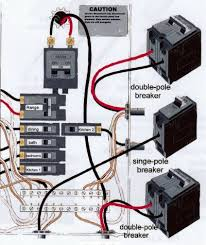 home electrical wiring first steps of installation with circuit