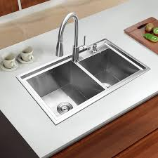 double drainer kitchen sink 780 430 220mm 304 stainless steel undermount kitchen sink set