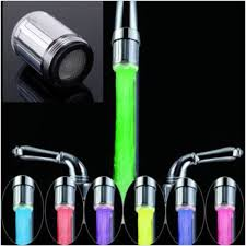 online get cheap bath tap shower adapter aliexpress com alibaba water faucet light led 7 colors changing glow