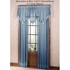 nimbus stripe scarf valance and window treatment