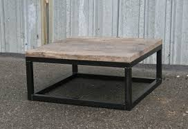 combine 9 industrial furniture reclaimed wood coffee table custom