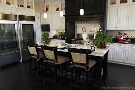 black kitchen cabinets design ideas black and white kitchen designs ideas and photos
