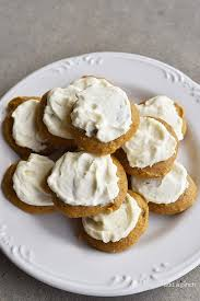 maple frosting pumpkin cookies recipe with maple buttercream frosting add a pinch