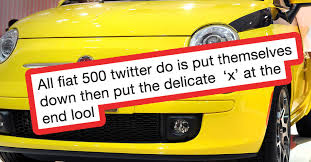 Fiat 500 Meme - fiat 500 twitter is the best thing to happen to the internet for a