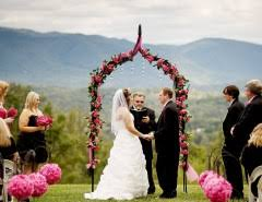 smoky mountain wedding venues smoky mountain bed and breakfast wedding venue