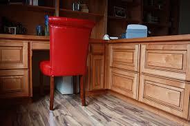 Light Wood Desk Affordable Custom Cabinets Showroom