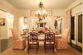 Southern Dining Rooms Southern Living Christmas House By Carithers Flowers Voted Best