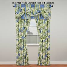 Good Valance Motifs Floral Flourish Window Treatment By Waverly