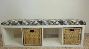 Bookcase To Bench Turn A Bookcase Into A Comfortable Storage Bench