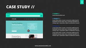 powerpoint case study template business case template powerpoint
