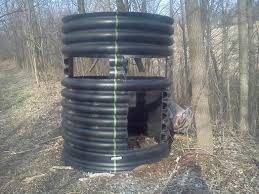 Plastic Deer Blinds Check This Permanent Blind Out