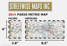 Aris Metro Map by Streetwise Paris Metro Map Laminated Paris Subway Rer Map For