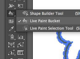 adobe illustrator how do i fill my vector file with color