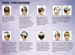 hair color and foil placement techniques tutorials archives rainbow hair colour