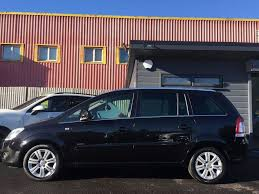 vauxhall black used black vauxhall zafira for sale swansea
