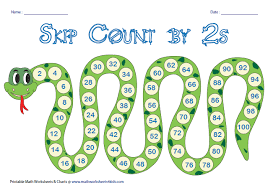 Skip Count By 2s Hundreds Chart Skip Counting Charts