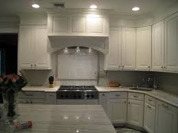 White Glass Backsplash by Kitchen Backsplash Ideas For White Cabinets Black Countertops