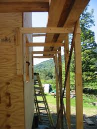 How To Build A Building by 17 Improvised Scaffolding Cranes U0026 Jacks Riversong Housewright