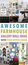 Fixer Upper Facebook Awesome Farmhouse Gallery Wall Ideas With Fixer Upper Charm The