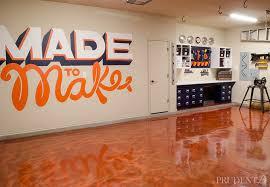 diy garage floor makeover with rocksolid metallic floor coating