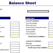 Excel Balance Sheet Template Free Simple Balance Sheet Template Free Vlashed