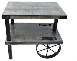Wrought Iron Accent Table Side Table Round Wood And Metal Coffee Table Wrought Iron Small