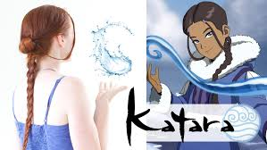 names of anime inspired hair styles silvousplaits hairstyling an avatar hair tutorial katara