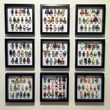 Ikea Ribba Rambling Introspection Diy Lego Collectable Minifigure Display