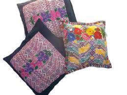 handmade pillows decorative pillows huipil pillows home decor