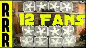 white noise fan sound fan noise 12 fans for 12 hours warning box fans galore fan noise