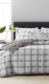 242 best bedroom decor images on pinterest bedroom decorating martha stewart collection cotton reversible plaid mist quilt and sham collection cotton created for macy s