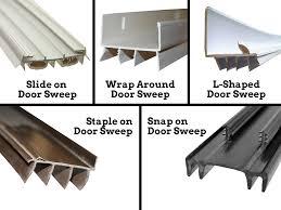 Door Bottom Sweeps For Exterior Doors Weatherproofing Doors And Windows Handyman Joes