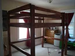 build your own loft bunk bed twin full queen king child