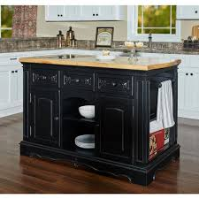 black kitchen cabinets home depot powell company pennfield black kitchen island