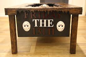 jason voorhees coffee table custom friday the 13th coffee table imprisons jason voorhees