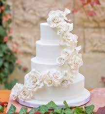 white roses wedding cake cakecentral