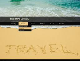travel co html5 template 111090 simple templates