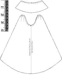 design pattern of dress sewing pattern cloak images coloring pages adult