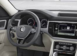 volkswagen crossblue interior 2018 vw atlas is a brand new 7 seater large crossover for north