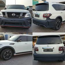 nissan patrol nismo nissan patrol nismo 2016 body kit avaliable free delivery 5600 aed