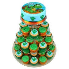 dinosaur cupcakes dinosaur birthday cupcake cake