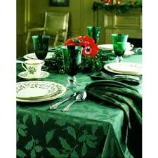 lenox damask green tablecloth free shipping on orders