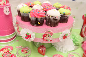 Centerpieces For Kids by Strawberry Shortcake Table Centerpiece For Kids Birthday Party
