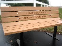 Engraved Benches Memorial Bench Treenovation