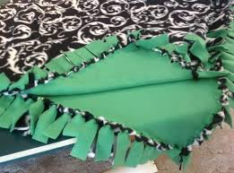 diy blanket how to make a no sew fleece blanket w out bulky knots recipe