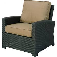 Patio Lounge Furniture by Wicker Club Chair Versatile Design Pairs Well With Other