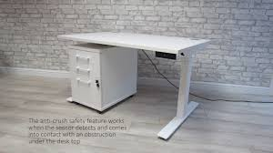 motorized sit stand desk autonomy pro electric sit stand desk youtube