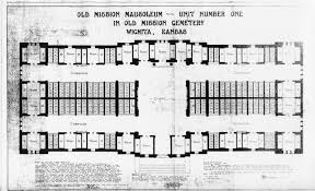 Spanish Floor Plans Blueprint Records Old Mission Mausoleum Page Of David G