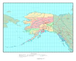 Map Of Usa With Capitals And Major Cities by Maps Of Alaska State Collection Of Detailed Maps Of Alaska State